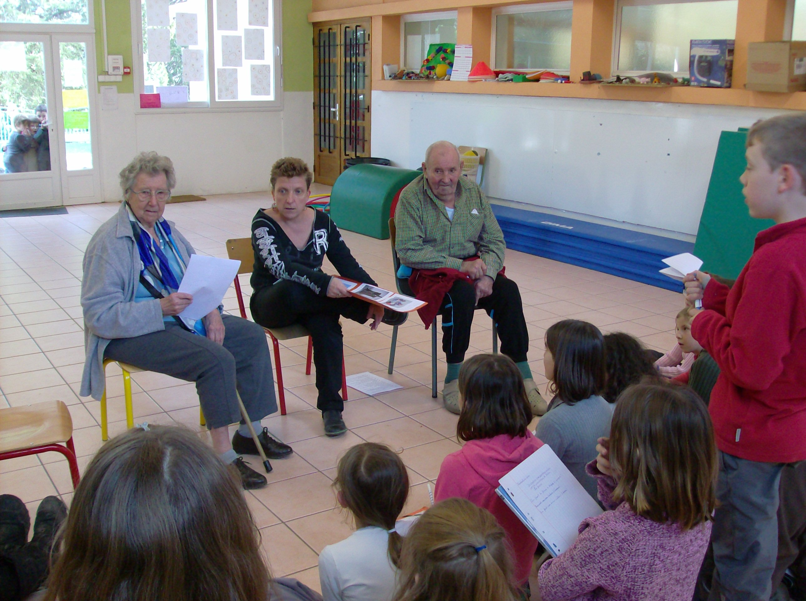 rencontre personnes agees
